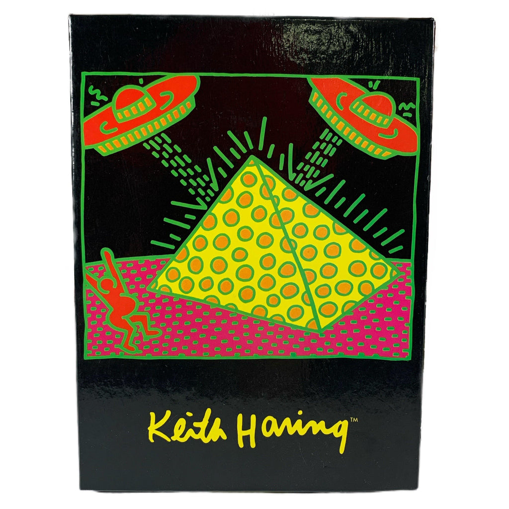 "Vintage Keith Haring ""Fertility Suite"" 10 Notecards With Envelopes Box"