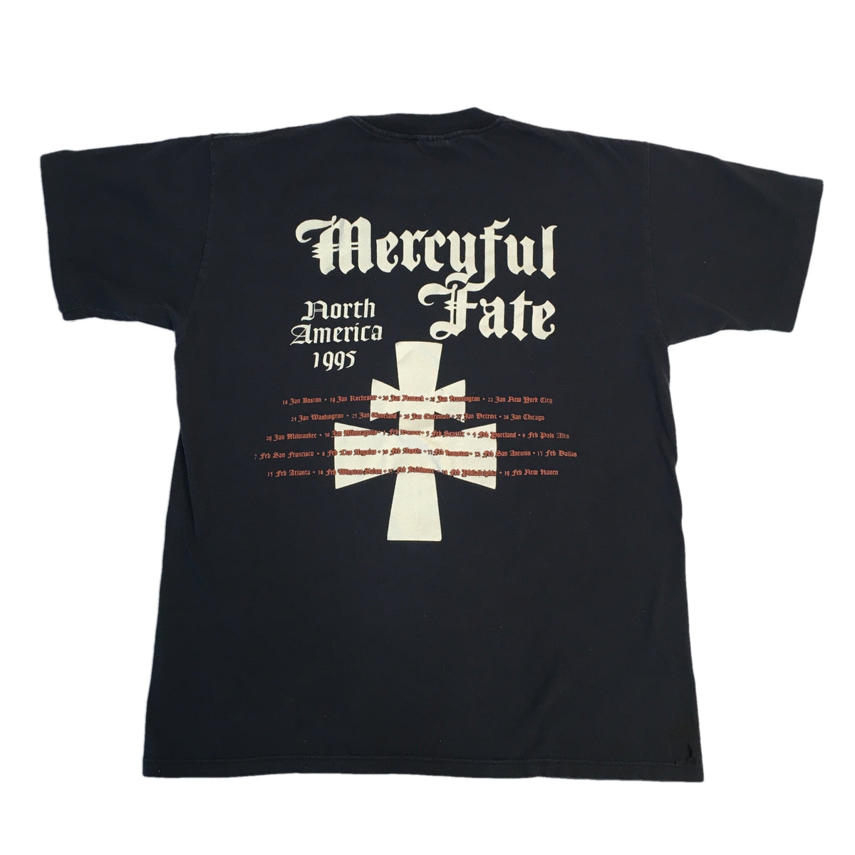 "Vintage Mercyful Fate ""North America 95"" Tour T-Shirt"