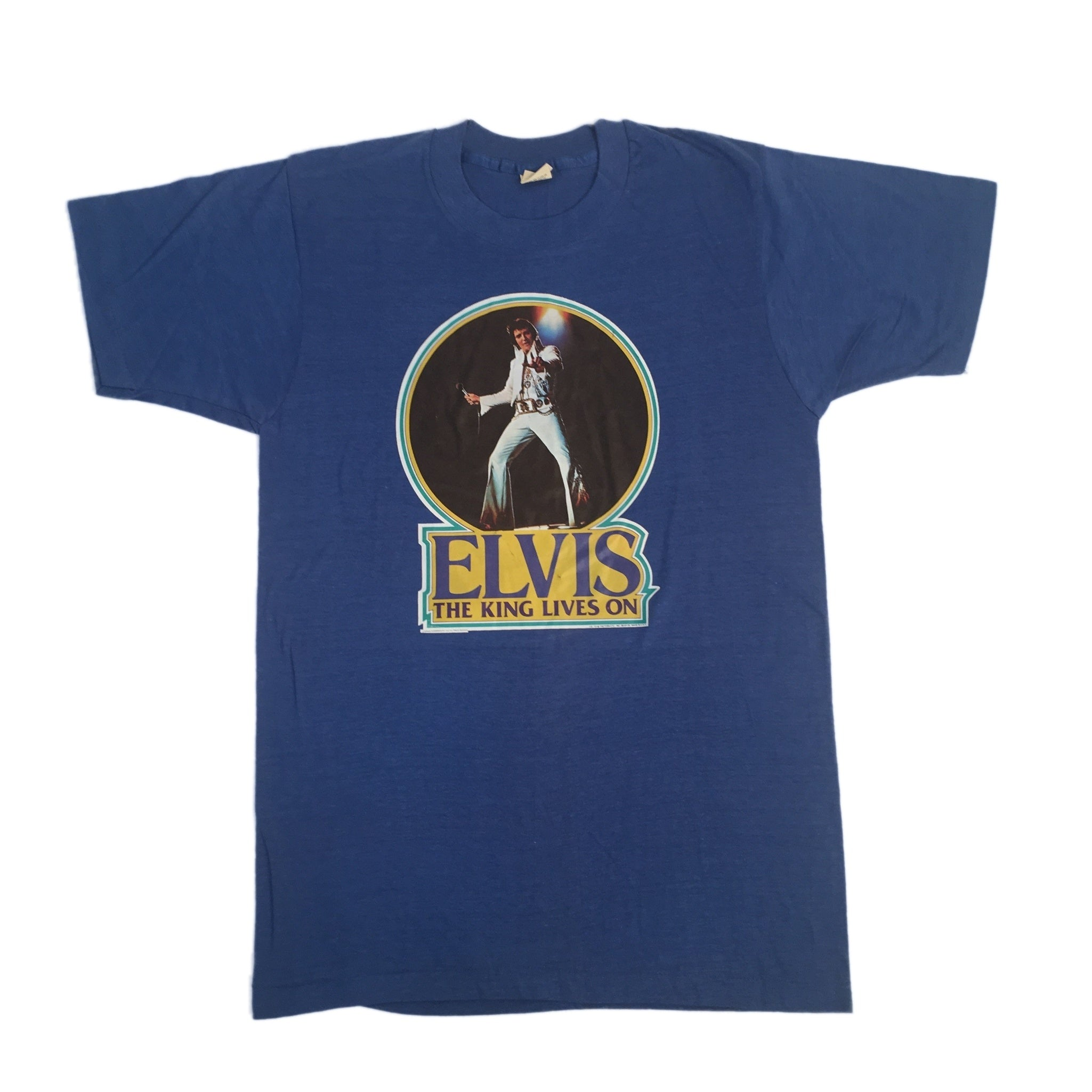 "Vintage Elvis Presley ""The King Lives On"" T-Shirt"