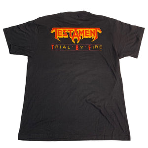 "Vintage Testament ""Trial By Fire"" T-Shirt"