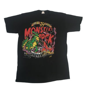 "Vintage Van Halen ""Monsters Of Rock"" T-Shirt"