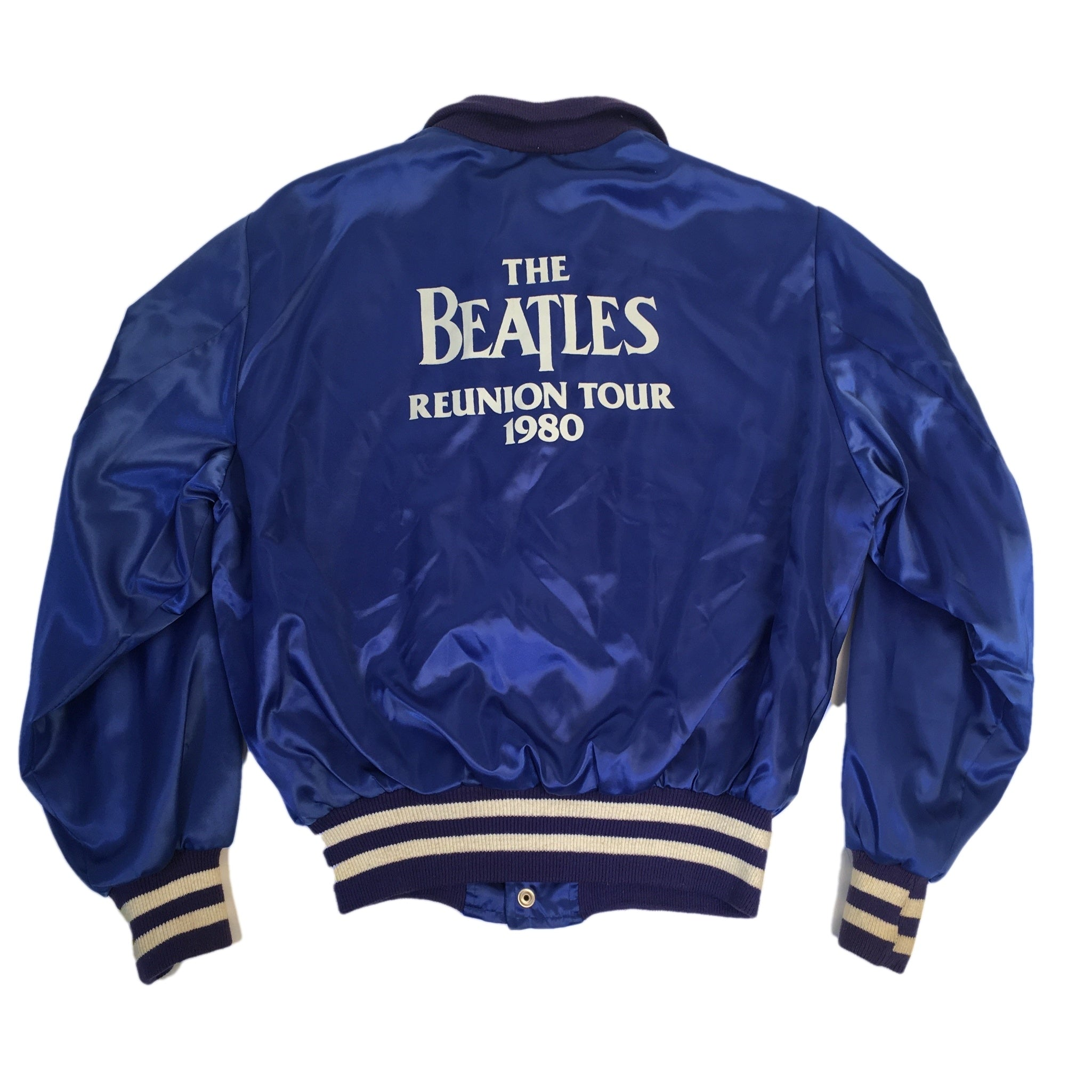 "Vintage The Beatles ""1980's Reunion"" Tour Satin Jacket"