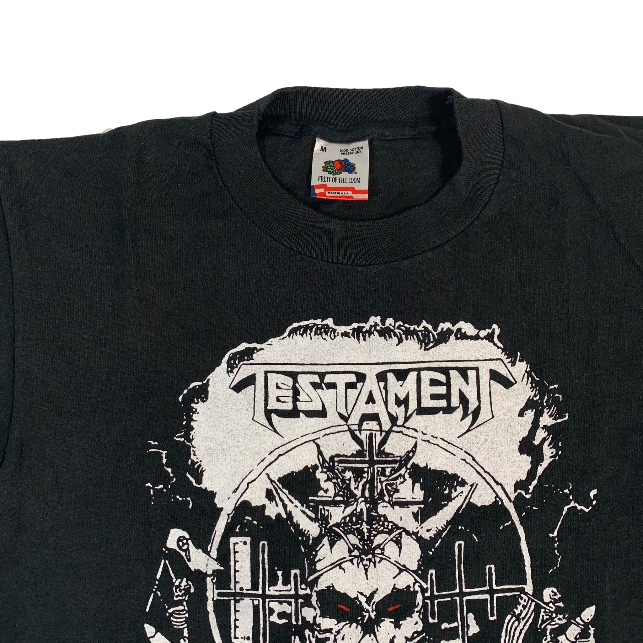"Vintage Testament ""First Strike/Provoke The Dead"" T-Shirt"
