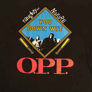 "Vintage Naughty By Nature ""OPP"" T-Shirt"