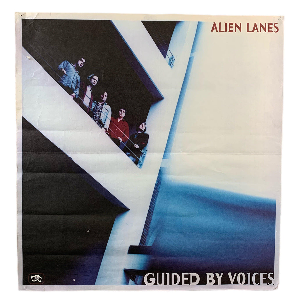 "Vintage Guided By Voices ""Alien Lanes"" Matador Records Promo Poster"