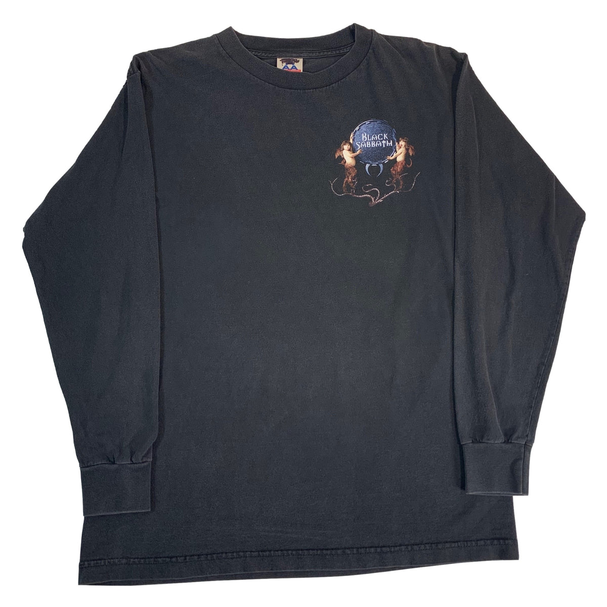 "Vintage Black Sabbath ""Crew"" Long Sleeve Shirt"