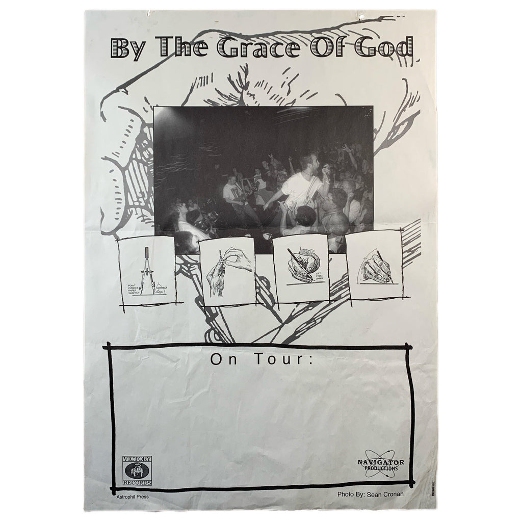 "Vintage By The Grace Of God ""Victory Records"" Tour Poster"