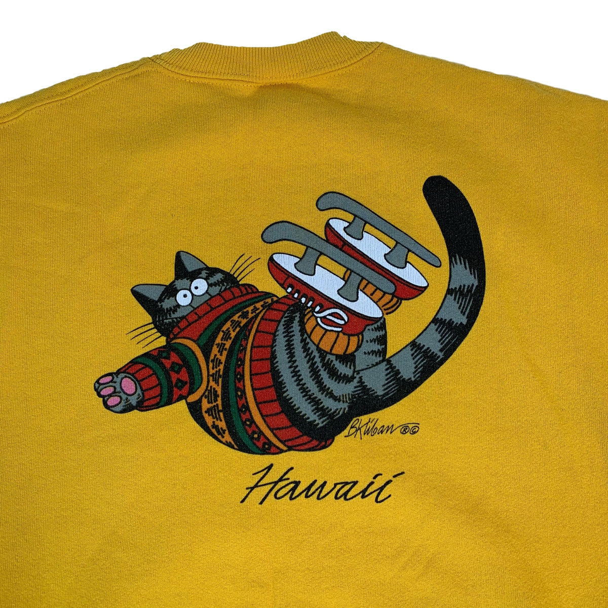 "Vintage B. Kliban ""Cat"" Crewneck Sweatshirt"