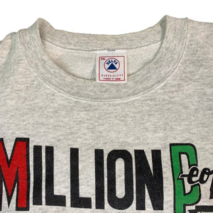 "Vintage Million People Marching ""DC"" Crewneck Sweatshirt"