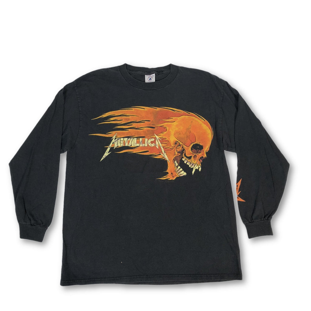 "Vintage Metallica ""Pushead Skull"" Long Sleeve T-Shirt"