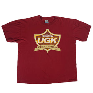 "Vintage UGK ""UnderGround Kingz"" Records T-Shirt"