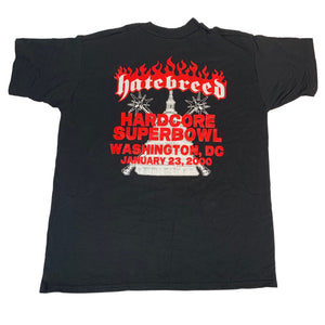 "Vintage Hatebreed ""Hardcore Superbowl"" T-Shirt"
