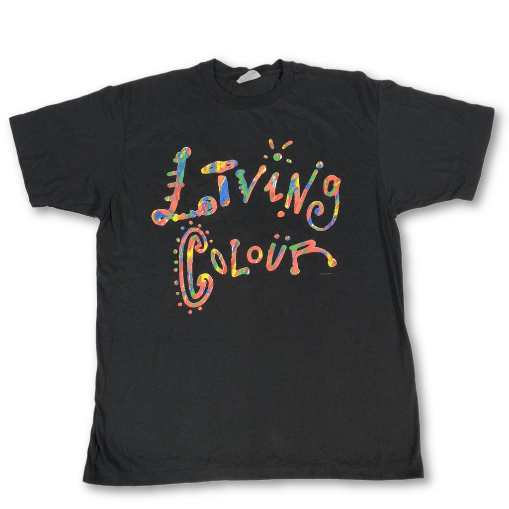 "Vintage Living Colour ""Logo"" T-Shirt"