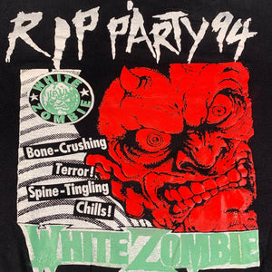 "Vintage White Zombie/Pantera ""RIP Party '94"" T-Shirt"