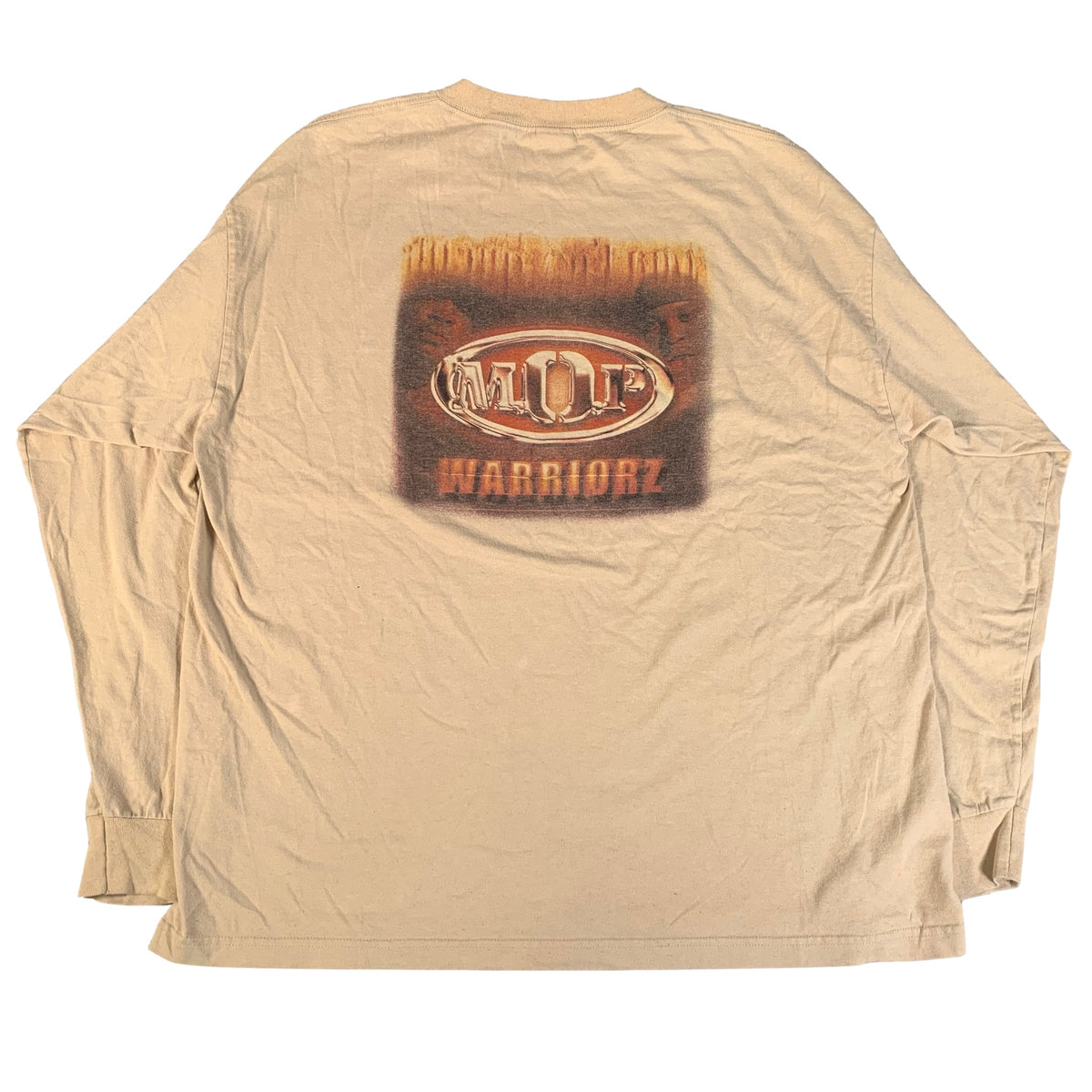 "Vintage M.O.P. ""Warriorz"" Long Sleeve Shirt"