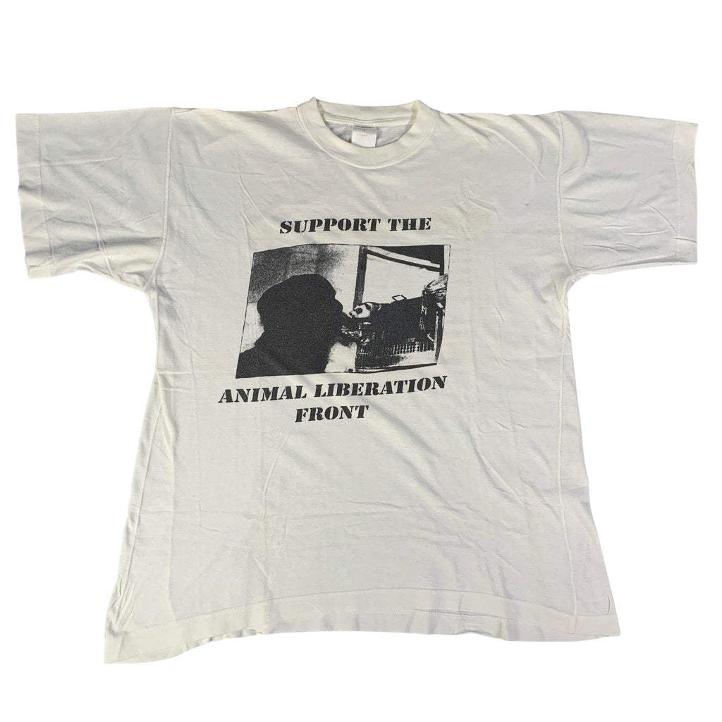 "Vintage Animal Liberation Front ""A.L.F. On Tour"" T-Shirt"