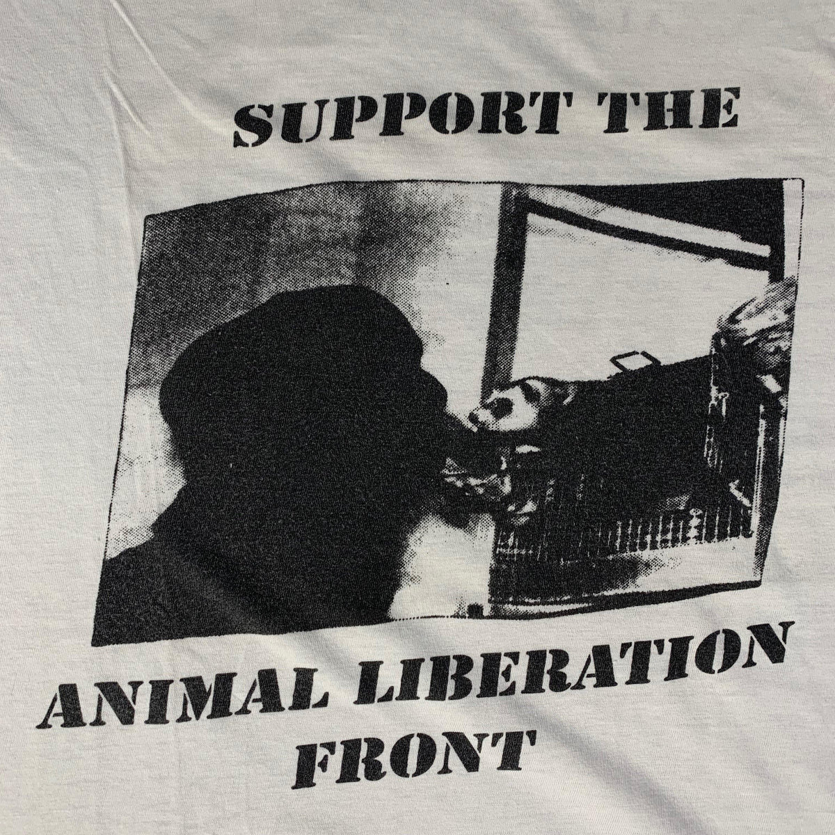 "Vintage Animal Liberation Front ""A.L.F. On Tour"" T-Shirt - jointcustodydc"
