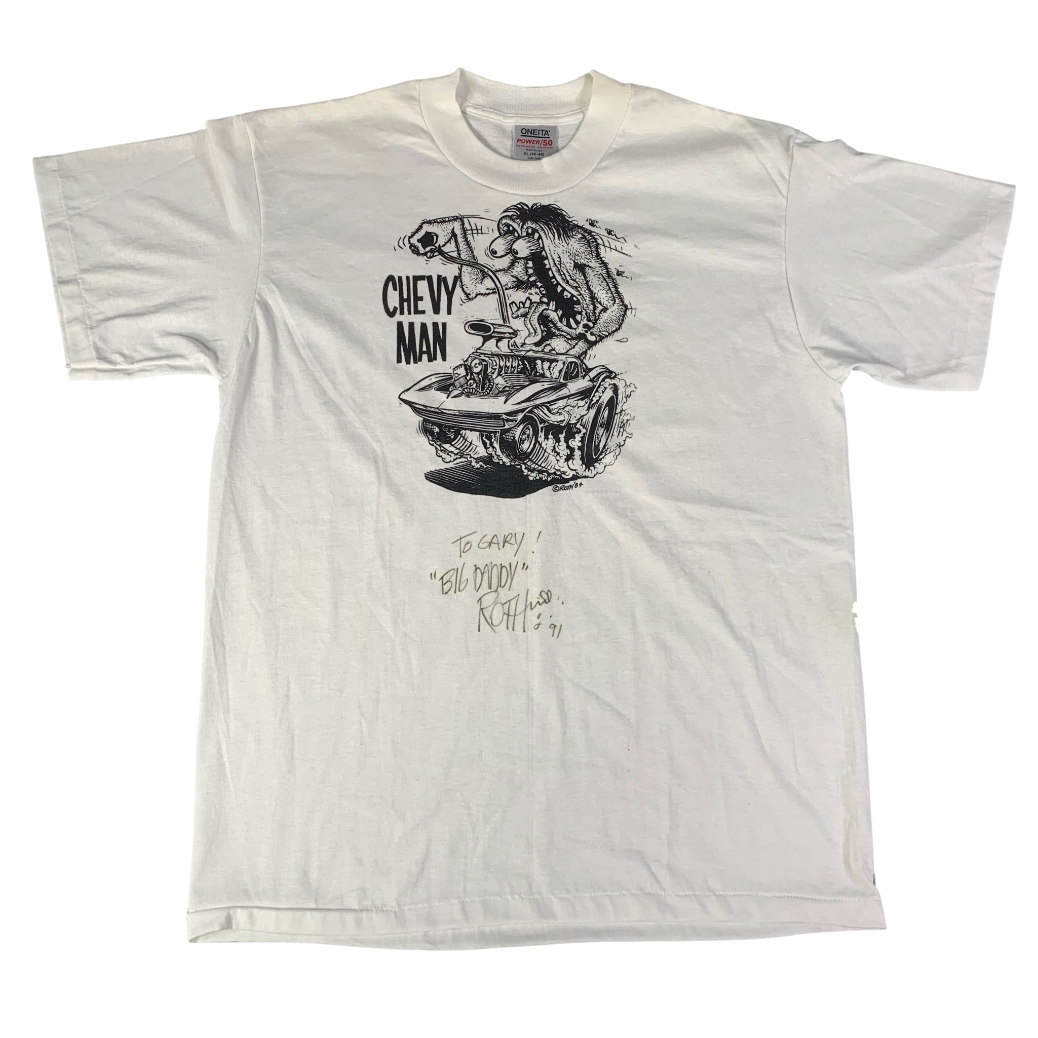 "Vintage Big Daddy Roth ""Chevy Man"" T-Shirt"