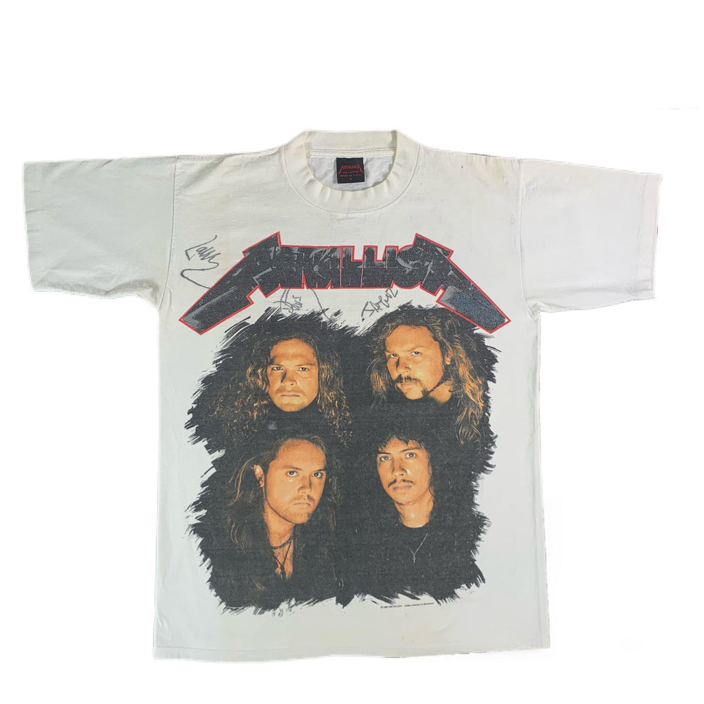 "Vintage Signed Metallica ""Wherever I May Roam"" T-Shirt"