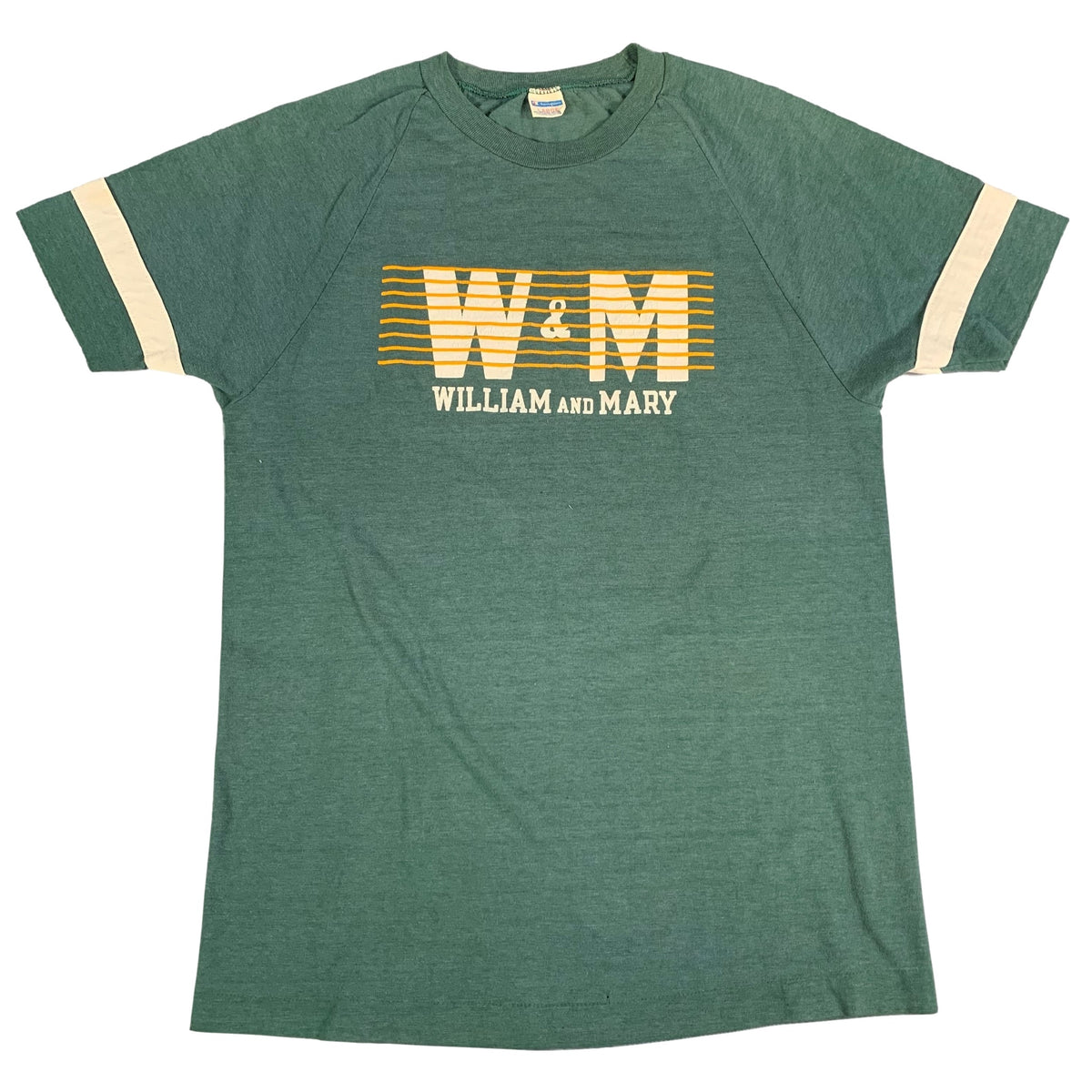"Vintage Champion Blue Bar ""William & Mary"" T-Shirt"