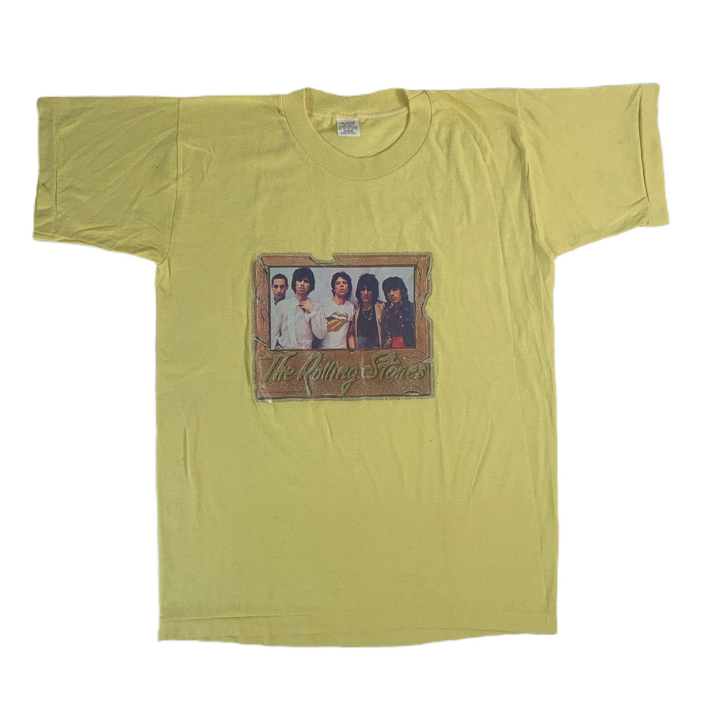 "Vintage The Rolling Stones ""Glitter"" T-Shirt"