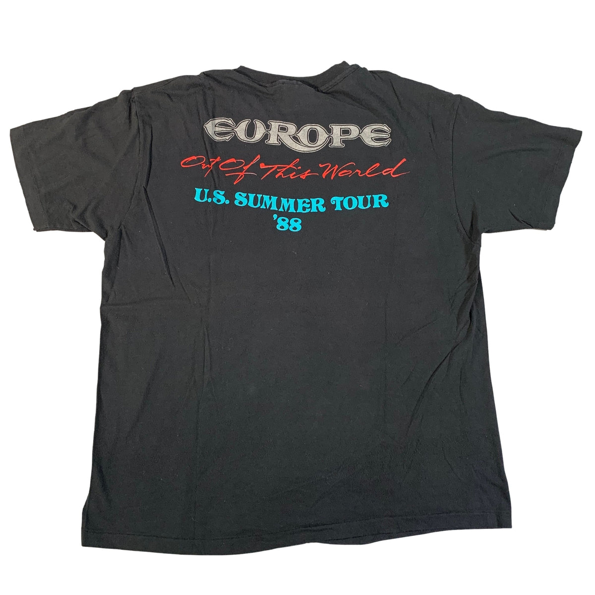 "Vintage Europe ""Out Of This World"" T-Shirt"