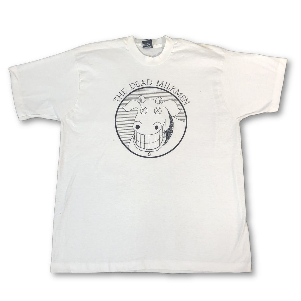 "Vintage The Dead Milkmen ""Cow"" T-Shirt (XXL)"