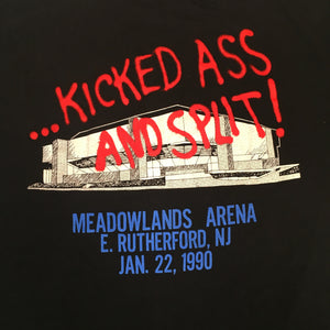 "Vintage Skid Row ""..Kicked Ass And Split!"" T-Shirt"
