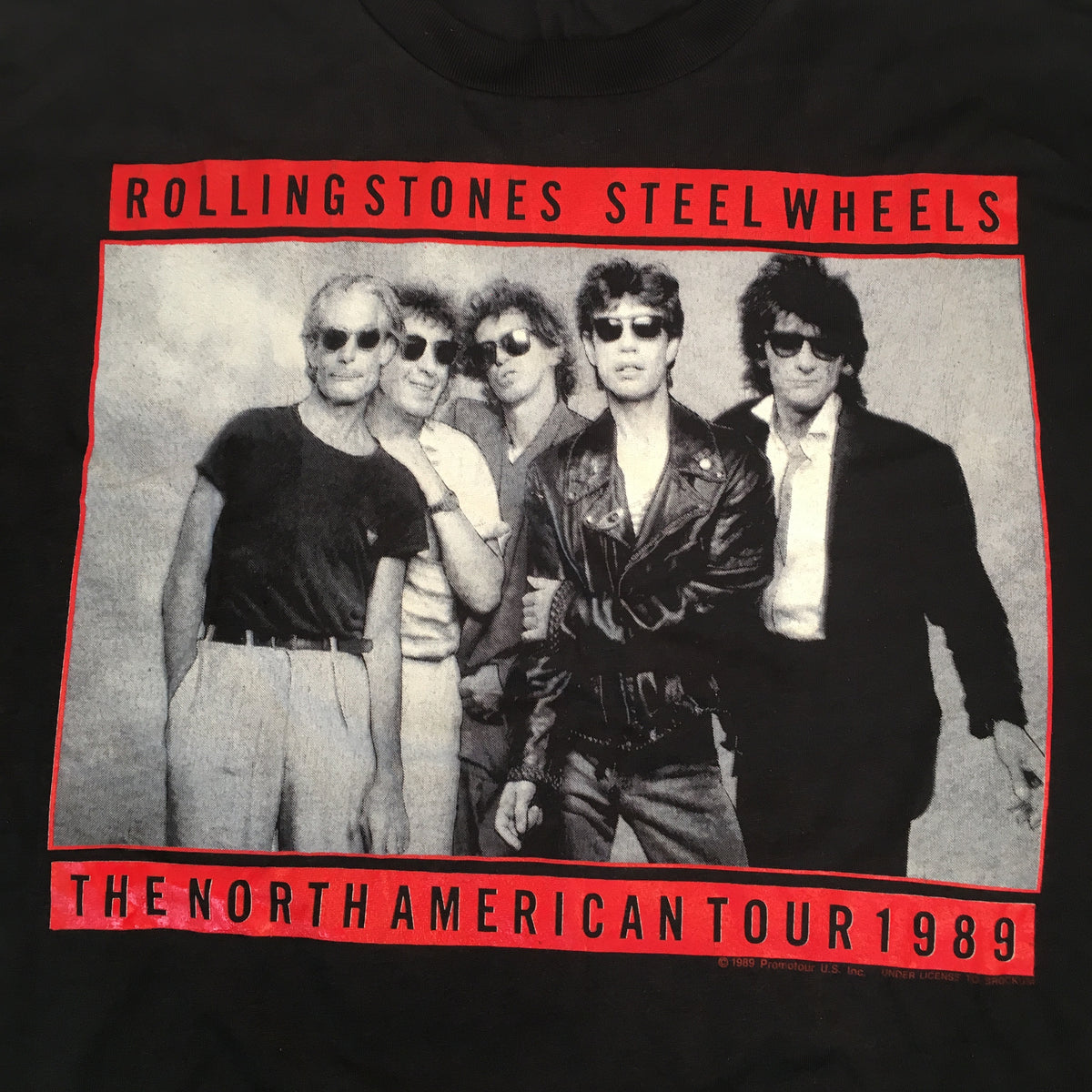 "Vintage The Rolling Stones ""Steel Wheels"" T-Shirt"