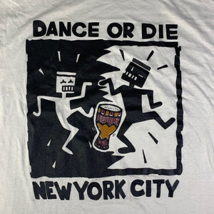"Vintage Keith Haring ""Dance Or Die"" T-Shirt"