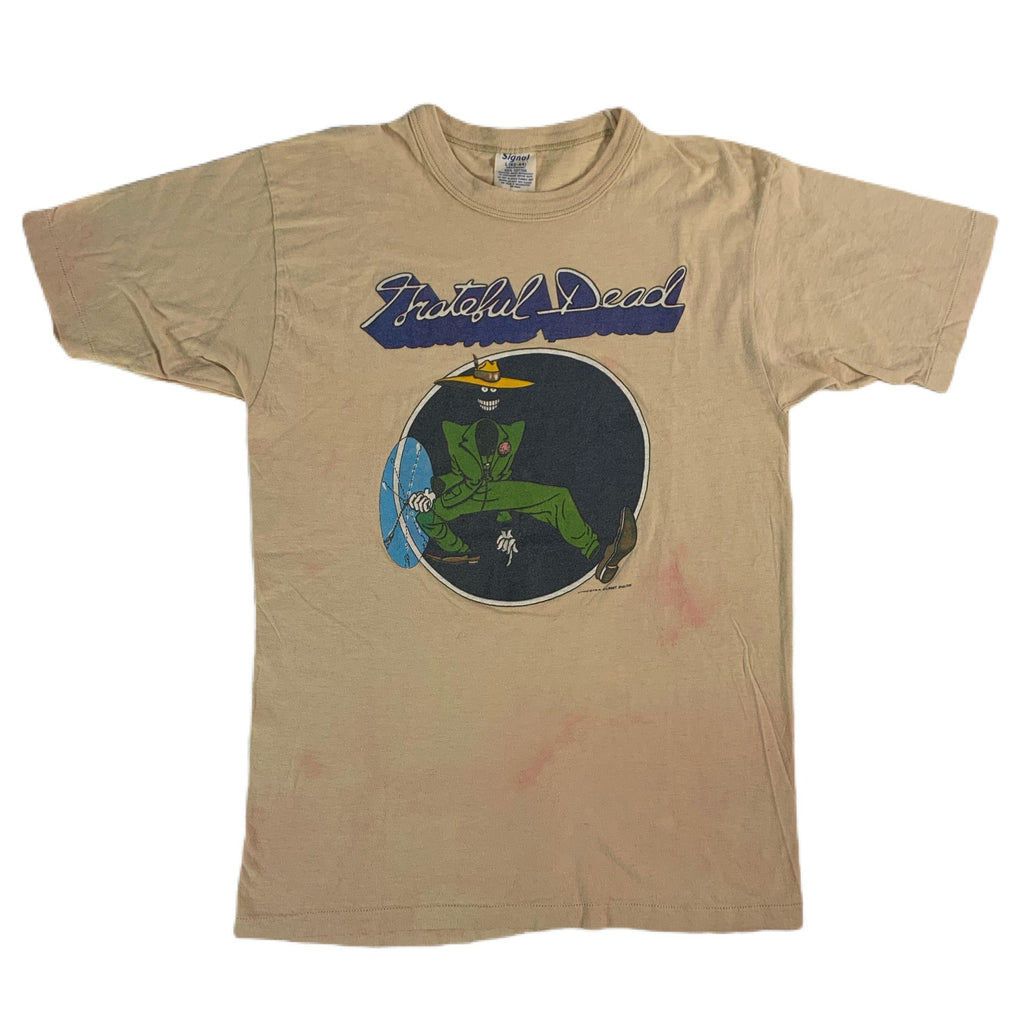 "Vintage Grateful Dead Gilbert Shelton ""Shakedown Street"" Arista Records Promo T-Shirt"
