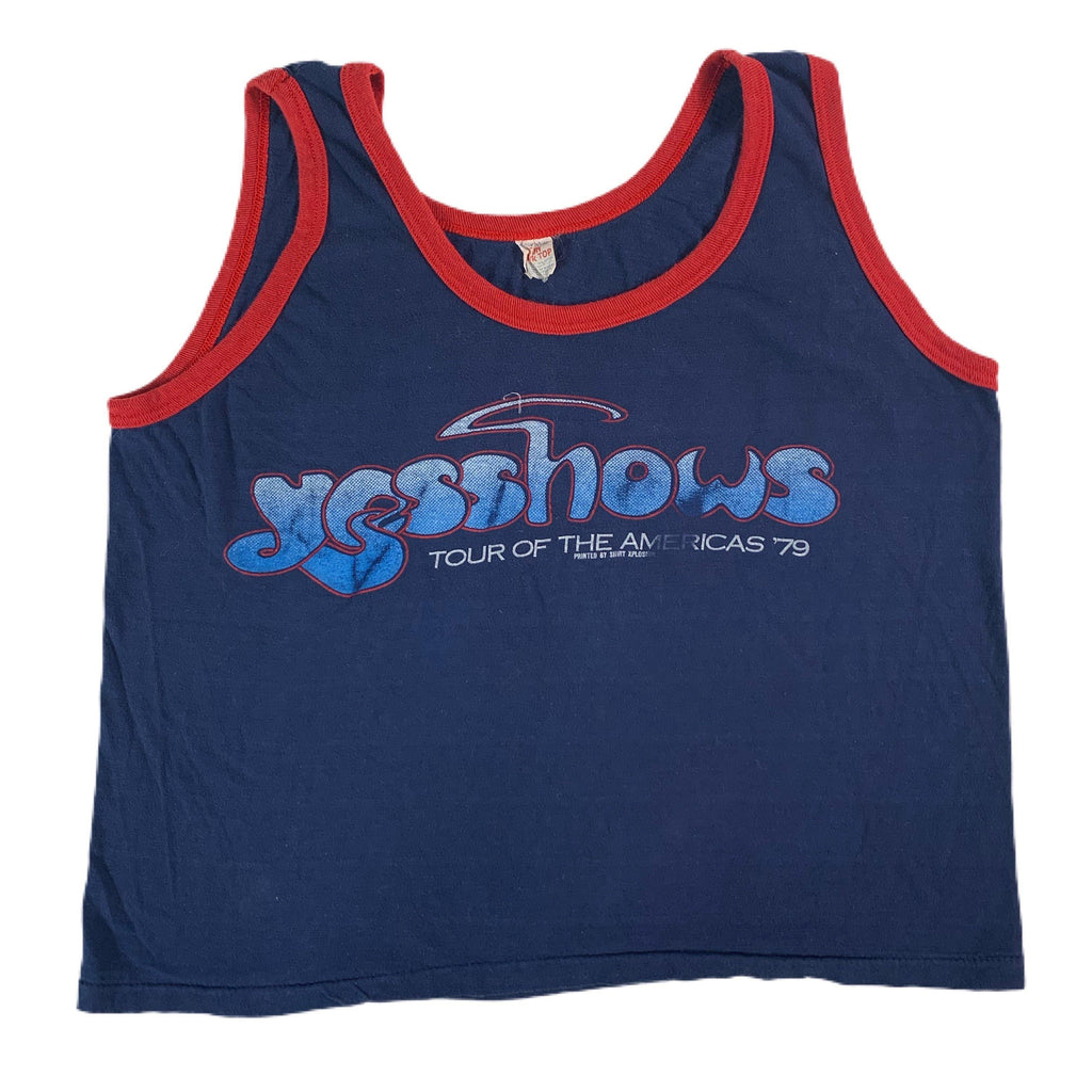 "Vintage YES ""America Tour '79"" Tank Top"