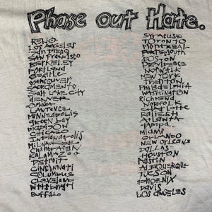 "Vintage 7 Seconds ""Phase Out Hate"" T-Shirt"
