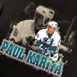 "Vintage Mighty Ducks ""Paul Kariya"" Starter T-Shirt"