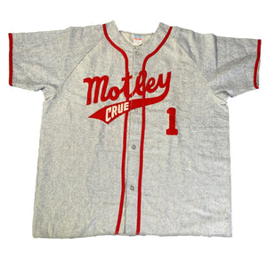"Vintage Motley Crue ""Crew Only"" Baseball Jersey"