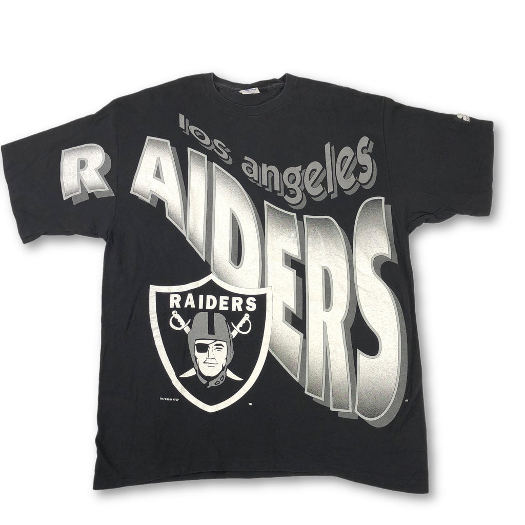 "Vintage Oakland Raiders ""Big Logo"" Starter T-Shirt"