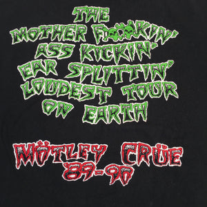 "Vintage Motley Crue ""Dr Feel Good"" T-Shirt"