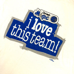 "Vintage Orlando Magic ""I Love This Team"" Starter T-Shirt - jointcustodydc"