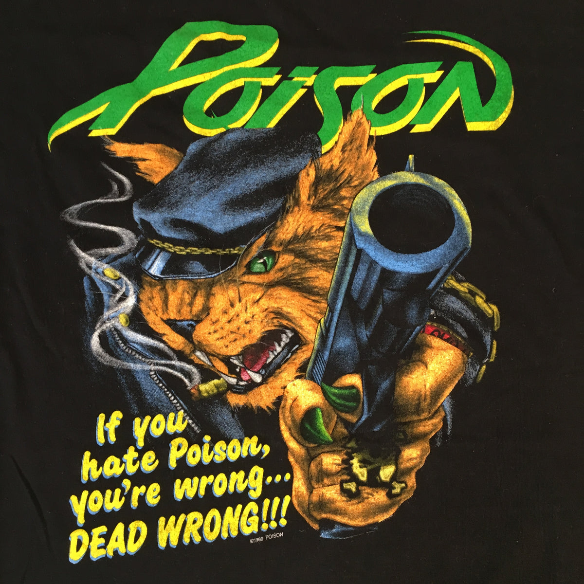 "Vintage Poison ""Security"" T-Shirt"