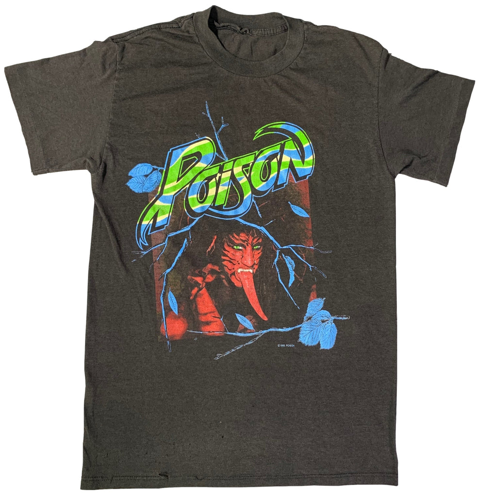 "Vintage Poison ""Open Up And Say Ahh!"" T-Shirt"