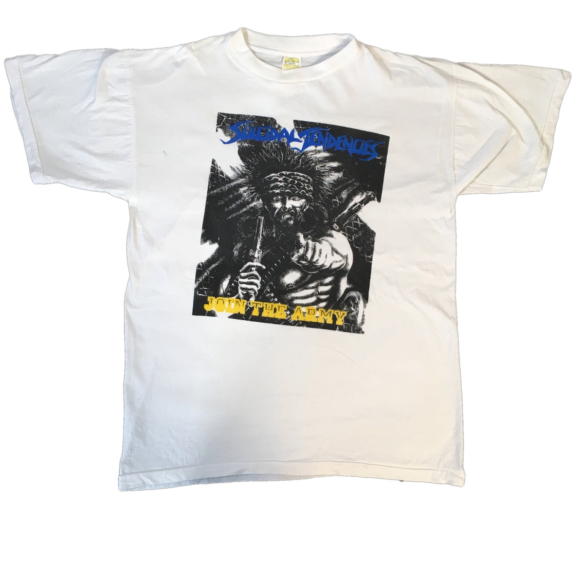 "Vintage Suicidal Tendencies ""Join The Army"" T-Shirt"