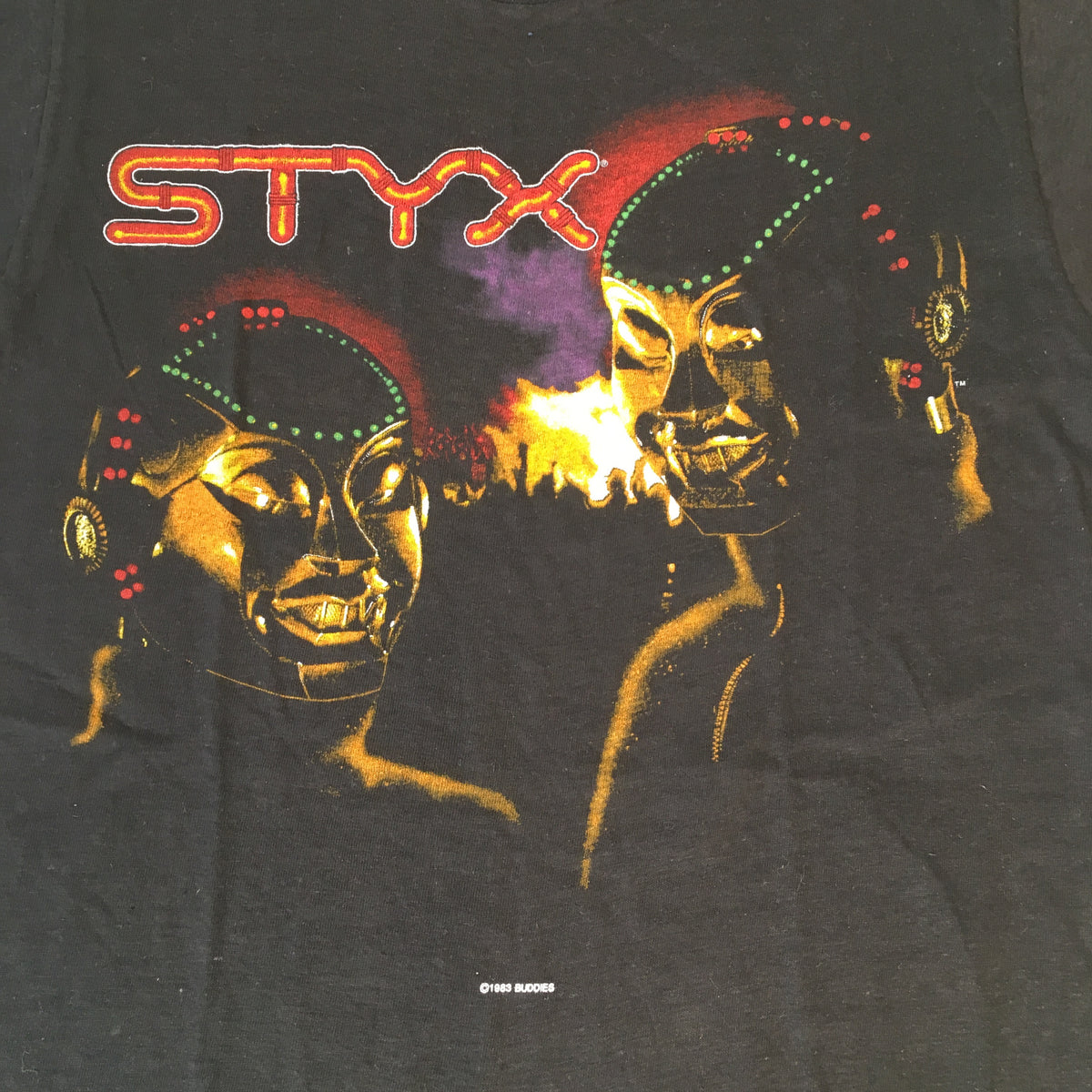 "Vintage Styx ""Kilroy Was Here"" T-Shirt"