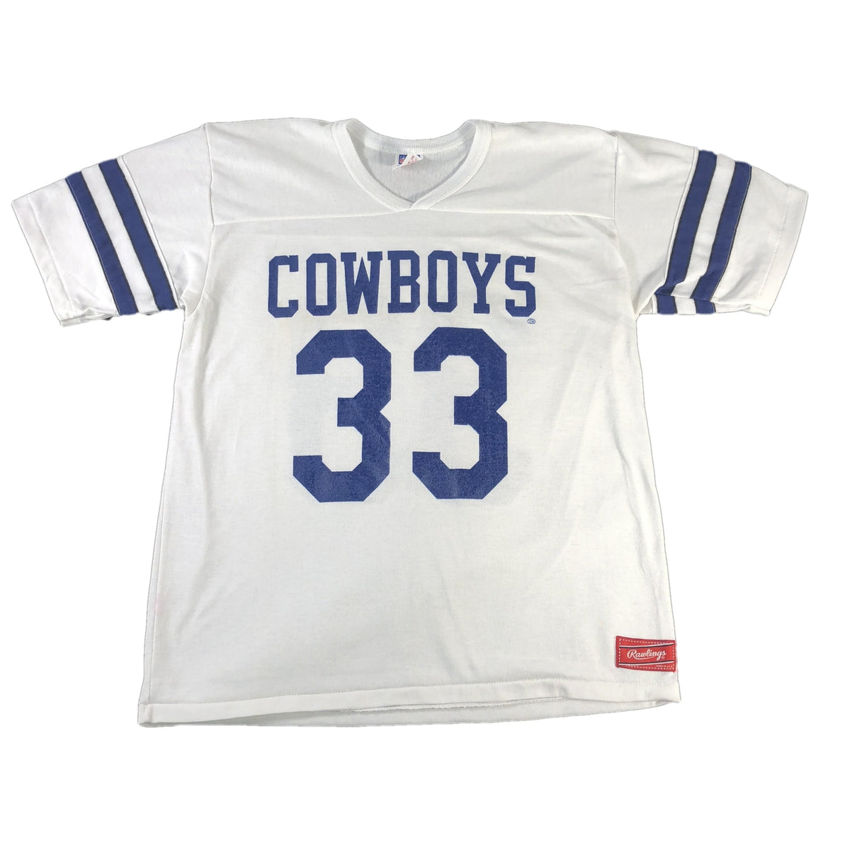 "Vintage Rawlings Dallas Cowboys ""Tony Dorsett 33"" Jersey - jointcustodydc"