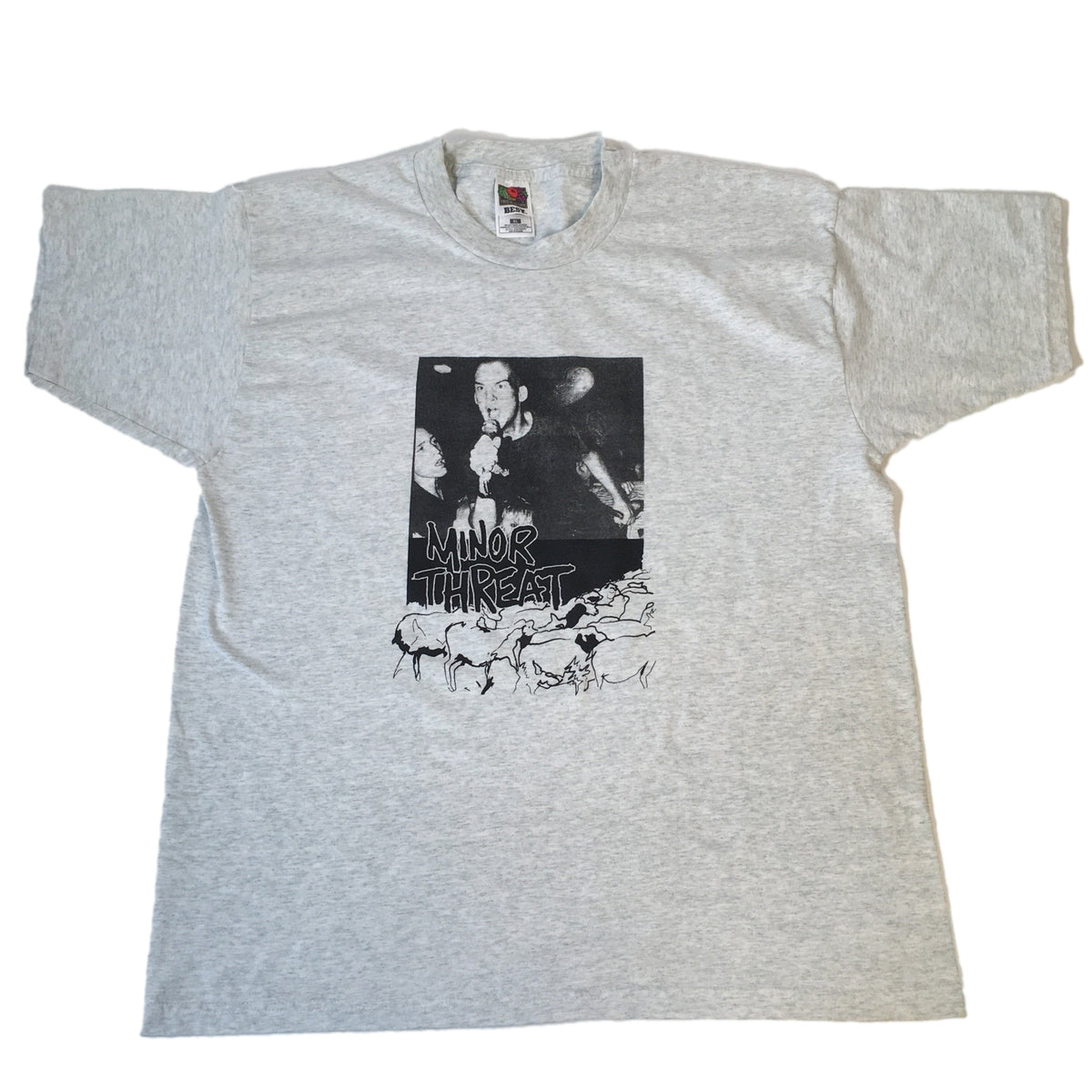 "Vintage Minor Threat ""Out Of Step"" T-Shirt"
