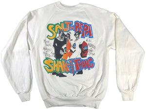 "Vintage Salt N Pepa ""Shake Your Thang"" Crewneck Sweatshirt - jointcustodydc"