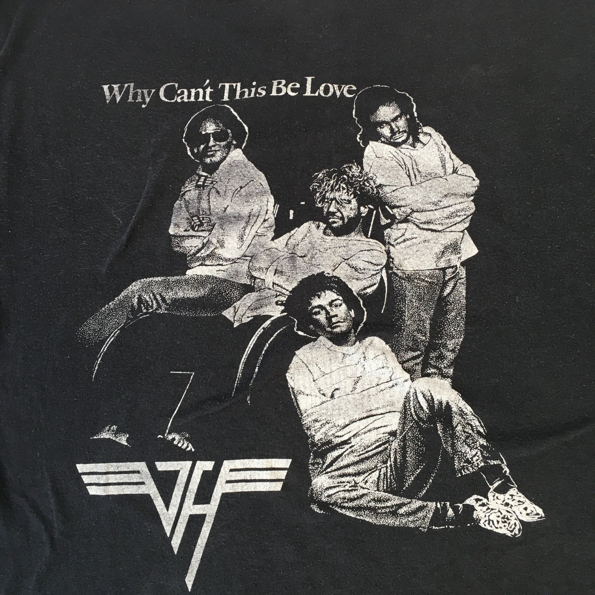 "Vintage Van Halen ""Why Can't This Be Love"" T-Shirt"