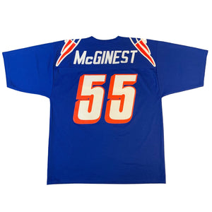 "Vintage New England Patriots ""McGinest"" Jersey"
