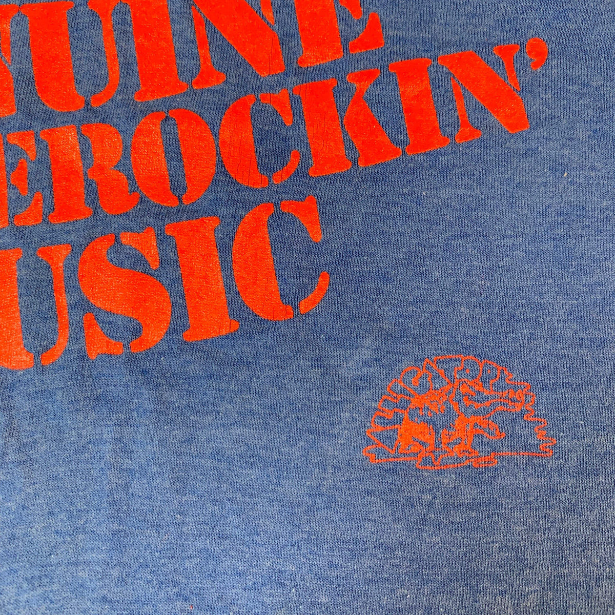 "Vintage Alligator Records ""Genuine Houserockin' Music"" T-Shirt"