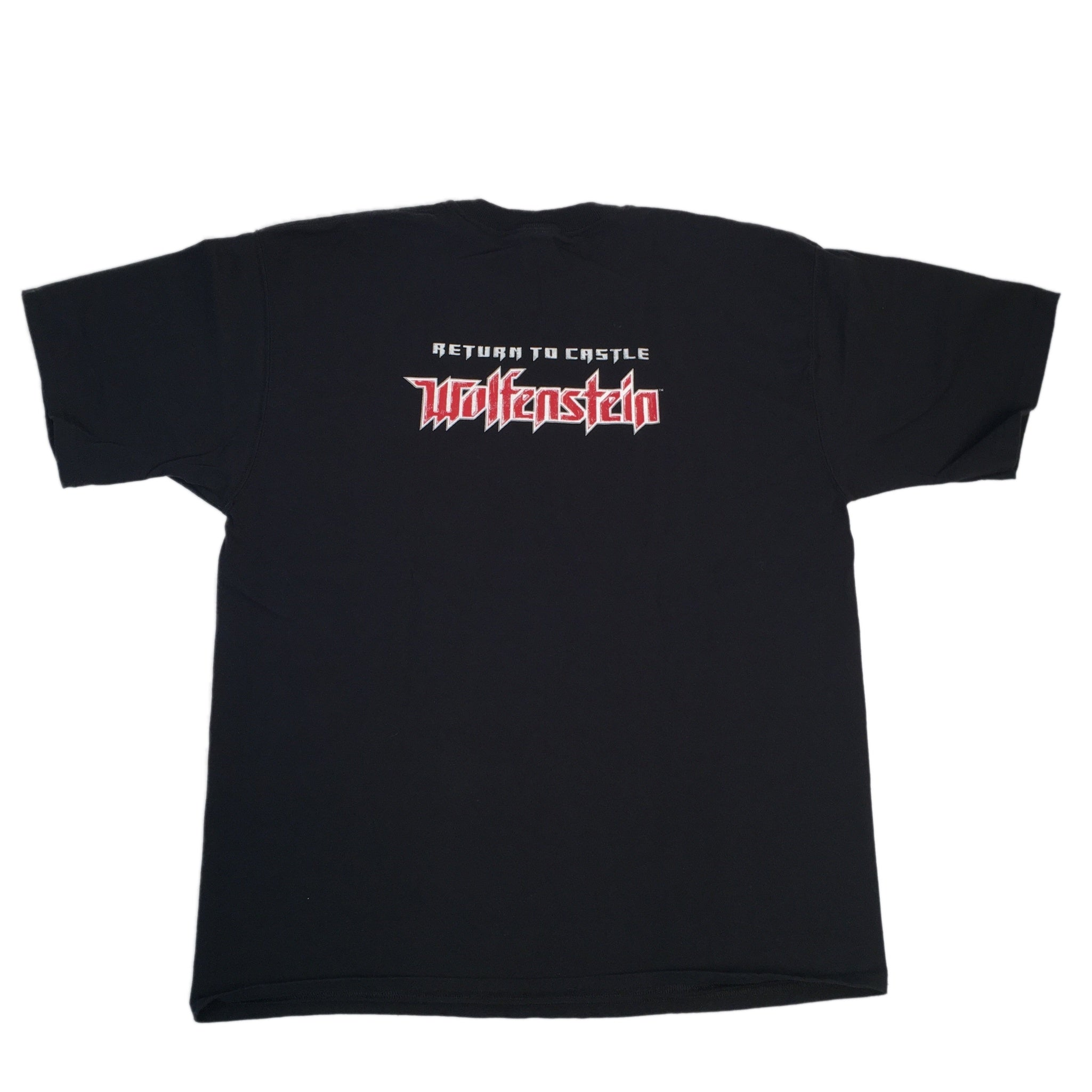 "Vintage Wolfenstein ""Return To Castle Wolfenstein"" T-Shirt"