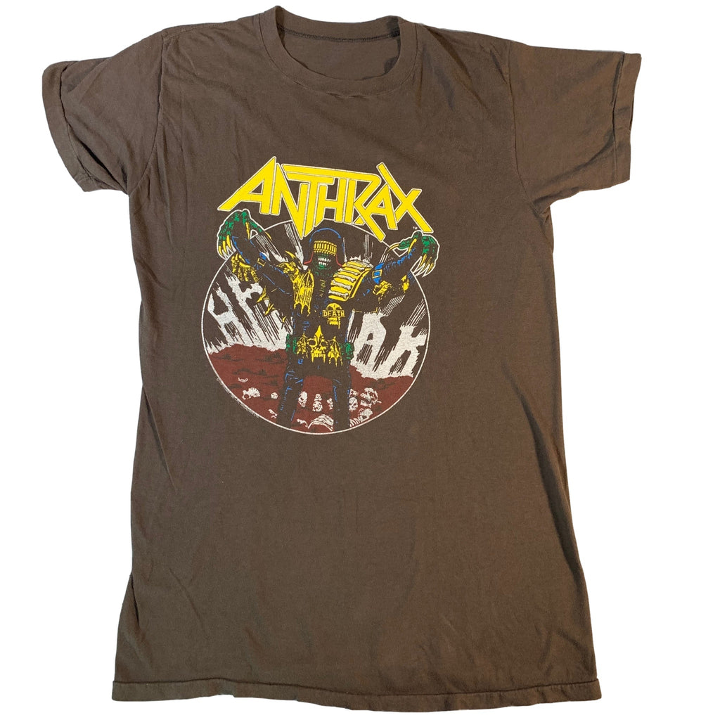"Vintage Anthrax ""I Am The Law"" T-Shirt"